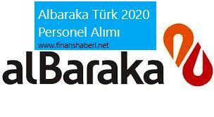 Albaraka Türk 2020 Personel Alımı