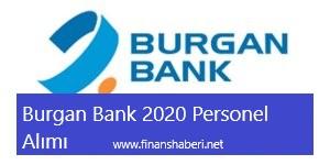 Burgan Bank 2020 Personel Alımı