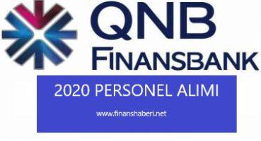 QNB Finansbank 2020 Personel Alımı