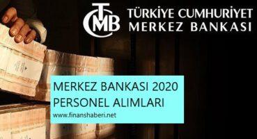 Merkez Bankası 2020 Personel Alımı