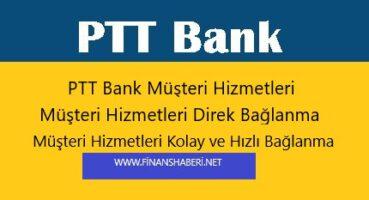 PTT Bank Müşteri Hizmetleri