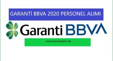 Garanti BBVA 2020 Personel Alımı