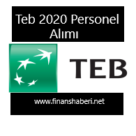 TEB 2020 Personel Alımı