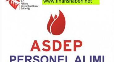 ASDEP 2020 Memur Personel Alımı