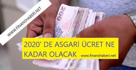 2020 Asgari Ücret