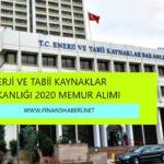 2020 Enerji Bakanlığı