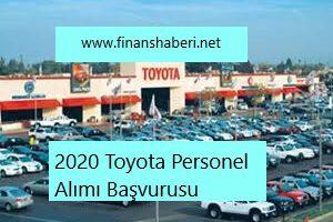 Toyota Türkiye 2020 Personel Alımı