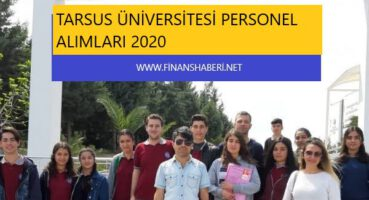 Tarsus Üniversitesi 2020 Personel Alımı