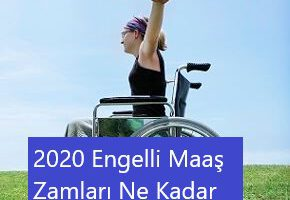 2020 Engelli Maaş Zamları Ne Kadar Olacak