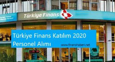 Türkiye Finans Katılım 2020 Personel Alımı