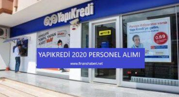 Yapı Kredi 2020 Personel Alımı