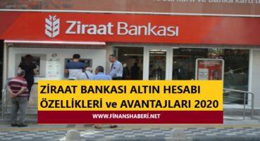 Ziraat Bankası Altın Hesabı Açma 2020