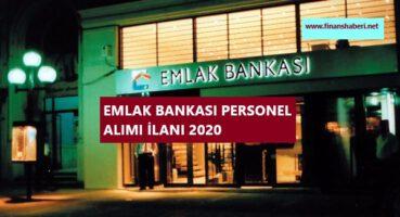 Emlak Bankası Personel Alımı 2020