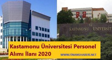 Kastamonu Üniversitesi 2020 Personel Alımı