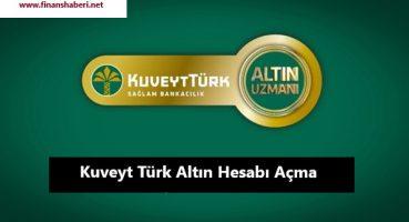 Kuveyt Türk 2020 Yılı Altın Hesabı