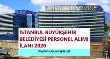 İBB Personel Alımı 2020