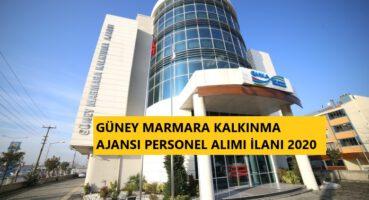 Güney Marmara Kalkınma Ajansı Personel Alımı 2020