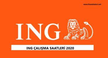 ING Çalışma Saatleri 2020