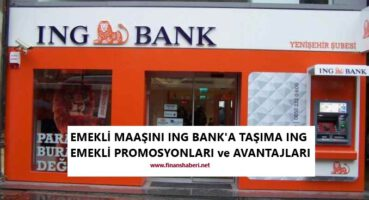 EMEKLİ MAAŞINI İNG BANK' A TAŞIMA 2020