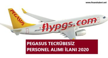 Pegasus 2020 Personel Alımı