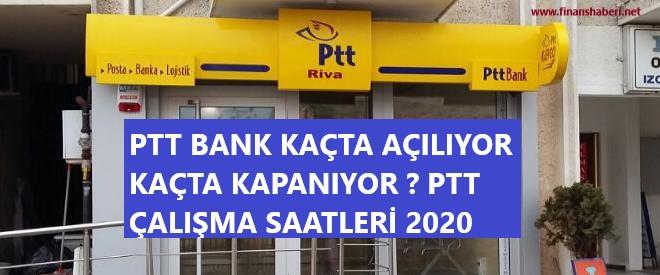 PTT ÇALIŞMA