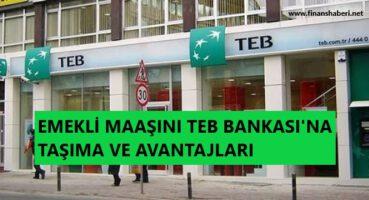 Türkiye Ekonomi Bankasına Emekli Maaşı Taşıma 2020