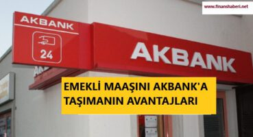 Emekli Maaşını Akbank'a Taşıma 2020
