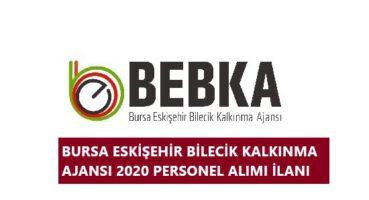 BEBKA Personel Alımı 2020