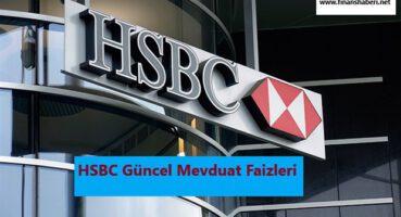 HSBC Mevduat Faizi Oranları 2020