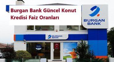 BURGAN Bank Konut Kredisi 2020