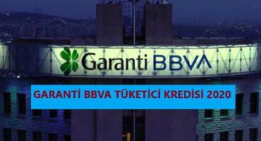 Garanti BBVA Tüketici Kredisi Faizleri 2020