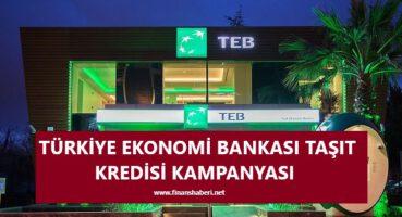 TEB Taşıt Kredisi Kampanyası 2020