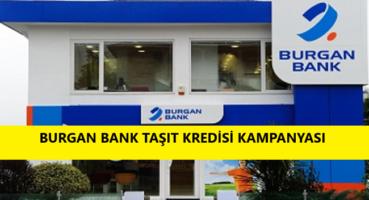 Burgan Bank 2020 Taşıt Kredisi Kampanyası