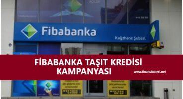 Fibabanka Taşıt Kredisi Kampanyası 2020