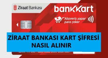 Ziraat Bankası Kart Şifresi Alma