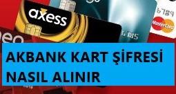 Akbank Kart Şİfresi Nasıl Alınır