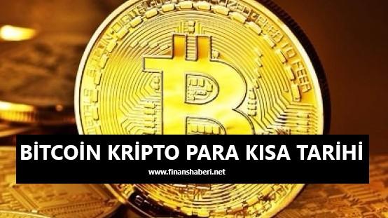 bitcoin kısa tarihi