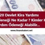 Devlet Kira Yardımı Nasıl Alınır 2020 www.finanshaberi.net