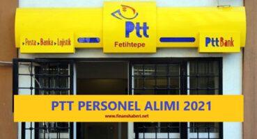 PTT Personel Alımı 2021