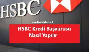 hsbc kredi başvurusu