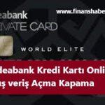 odeabank kredi kartı online alış veriş açma kapama www.finanshaberi.net