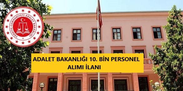 10 bin personel adalet bakanlığı