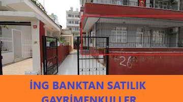İNG Bank Satılık Gayrimenkuller