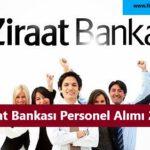 Ziraat Bankası Personel Alımı 2021