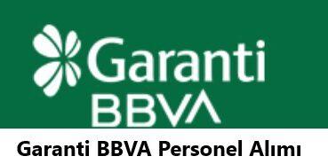 Garanti BBVA Personel Alımı 2021