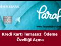 Halkbank Kredi Kartı Temassız Ödemeye Açma