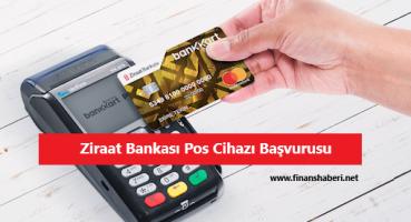 Ziraat Bankası Pos Başvurusu